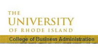 Logo University of Rhode Island College of Business Administration