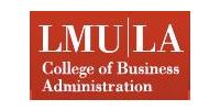 Logo Loyola Marymount University College of Business