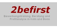 Logo von 2befirst Bewerbungstraining, Beratung und Profilanalyse in Köln und Bonn
