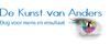 Logo van De Kunst van Anders