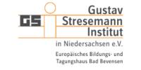 Logo von Gustav Stresemann Institut in Niedersachsen e. V.