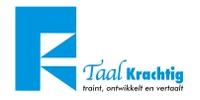 Logo van Taalkrachtig - Traint, ontwikkelt en vertaalt