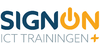 Logo van SignOn ICT Trainingen+