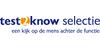 Logo van Test2know selectie
