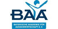 Logo von BAA - Bayerische Akademie für Außenwirtschaft e.V