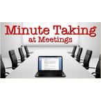Thumbnail minute taking
