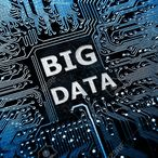 Square 29331019 data concept circuit board with word big data stock photo technology