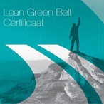Square lean green belt