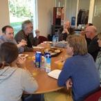 Square 7 2014 lunch met cursisten