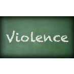 Thumbnail violence chalkboard